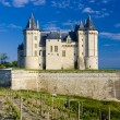 Stock Photo: Chateau de Saumur, Pays-de-la-Loire, France