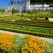 Villandry Castle with garden, Indre-et-Loire, Centre, France — Foto Stock