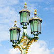 Street lamp, Great Britain — Stock Photo #10986204