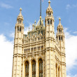 Victoria Tower, Westminster Palace, London, Great Britain — Stock Photo