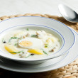 Dill soup — Stock Photo #10986829