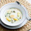 dill soup&quot — Stock Photo