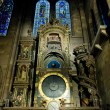 Astronomical clock in Cathedral Notre Dame, Strasbourg, Alsace, — Stock Photo #10987645