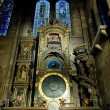 Stock Photo: Astronomical clock in Cathedral Notre Dame, Strasbourg, Alsace,