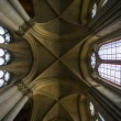 Interior of Cathedral Notre Dame, Reims, Champagne, France — Stock Photo