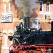Stock Photo: Steam train, Steinbach - Johstadt, Germany