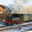Stock Photo: Steam train, Steinbach - Jöhstadt, Germany