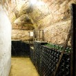 Wine archive, wine cellar in Jaroslavice, Czech Republic — Stock Photo #10988614