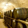Wine cellar, Jaroslavice, Czech Republic — Stock Photo #10988624