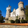 Castle Zleby, Czech Republic - Stock Photo