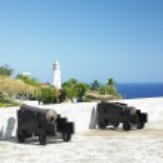 San Pedro de la Roca Castle, Santiago de Cuba Province, Cuba — Stock Photo #10989408