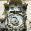 Horloge, Old Town Hall, Prague, Czech Republic — Foto de Stock