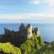Stock Photo: Ruins of Dunluce Castle, County Antrim, Northern Ireland