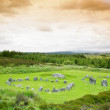Stock Photo: Stone circles, Beaghmore, County Tyrone, Northern Ireland