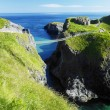 Carrick-a-rede Rope Bridge, County Antrim, Northern Ireland — Stock Photo #10989778