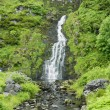 Stock Photo: Assarancagh Waterfall, County Donegal, Ireland