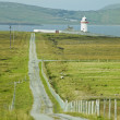 Stock Photo: Lighthouse, Mullet Peninsula, County Mayo, Ireland