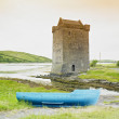 Stock Photo: Rockfleet Castle, County Mayo, Ireland