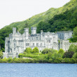 Kylemore Abbey, County Galway, Ireland - Stock Photo