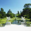 Triton's Lake, Powerscourt Gardens, County Wicklow, Ireland — Stock Photo