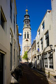 Tower Lange Jan, Middelburg, Zeeland, Netherlands — Stock Photo