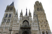Cathedral Notre Dame, Rouen, Normandy, France — Stock Photo