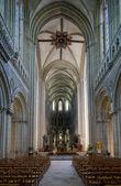 大教堂巴黎圣母院、 贝叶、 诺曼底、 法国内政部 — 图库照片