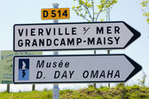 Day D Museum, Omaha Beach, Normandy, France — Stock Photo
