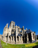 Katedralen notre dame, coutances, normandie, frankrike — Stockfoto
