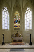 Castle chapel, Usse Castle, Indre-et-Loire, Centre, France — Stock Photo