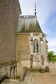 Castle's chapel, Chateau du Moulin, Lassay-sur-Croisne, Centre, — Stok fotoğraf