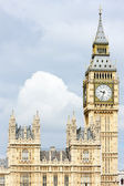 Houses of Parliament and Big Ben, London, Great Britain — Stock Photo