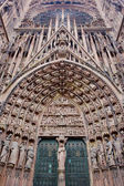 Cathedral Notre Dame, Strasbourg, Alsace, France — Stock Photo
