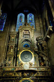 Astronomical clock in Cathedral Notre Dame, Strasbourg, Alsace, — Stock Photo