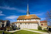 Kilise bailly-le-frangı, şampanya, fransa — Stok fotoğraf