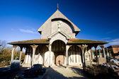 Kilise lentilles, şampanya, fransa — Stok fotoğraf