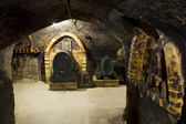 Wine cellar, Hort Winery, Znojmo - Dobsice, Czech Republic — Stock Photo