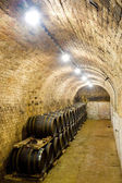 Wine cellar, Jaroslavice, Czech Republic — Stock Photo
