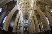 チェコ共和国、クトナー ・ ホラの聖バルバラ大聖堂の内部 — ストック写真