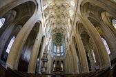 Interior da catedral de santa bárbara, kutna hora, república checa — Foto Stock