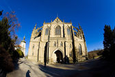 Cathedral st. barbara, kutna hora, çek cumhuriyeti — Stok fotoğraf
