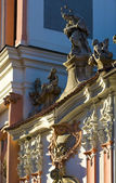 Kilise st., jan nepomucky, kutna hora, çek cumhuriyeti — Stok fotoğraf
