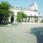 Palacio del Segundo Cabo (Instituto Cubano del Libro), Plaza de — Stock Photo