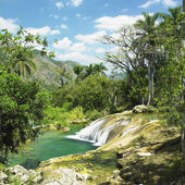 El Nicho waterfall, Cienfuegos Province, Cuba — Stock Photo