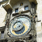 Horloge, Old Town Hall, Prague, Czech Republic — Stock Photo