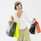 Ragazza dello shopping — Foto Stock