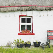 Cottage, Malin Head, County Donegal, Ireland — Stock Photo