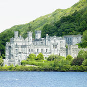 Kylemore abbey, county galway, irland — Stockfoto