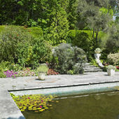 Itallian Garden, Garinish Island (Ilnacullin), County Cork, Irel — Stock Photo