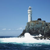 Lighthouse, Fastnet Rock, County Cork, Ireland — Stock Photo